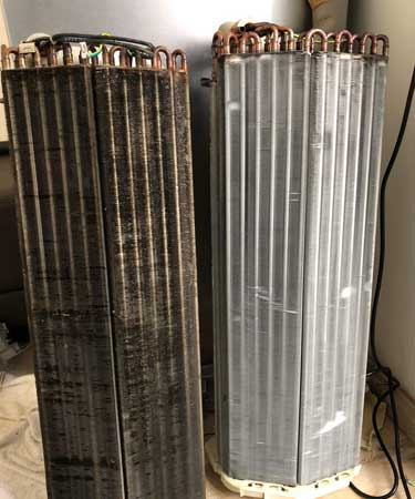 Before-and-After-General-Chemical-Clean-of-Cooling-Coil